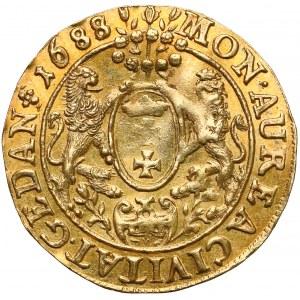 Jan III Sobieski, Dukat Gdańsk 1688