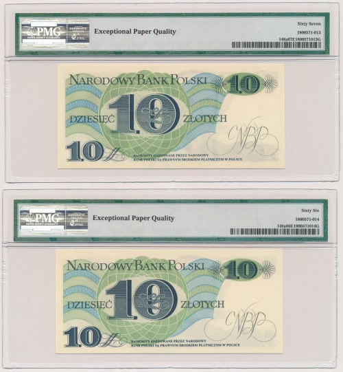 10 złotych 1982 - B i T (2szt)