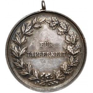 Niemcy, Hesja, Ernest Ludwig, Medal Za Dzielność - FÜR TAPFERKEIT