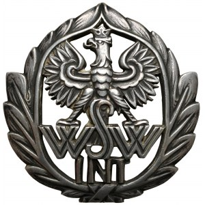 Odznaka Wyższa Szkoła Wojenna - Kurs Intendentury