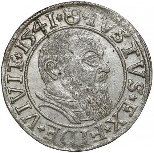 Prusy, Albrecht Hohenzollern, Grosz Królewiec 1541