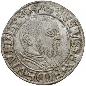 Prusy, Albrecht Hohenzollern, Grosz Królewiec 1544 - szeroka broda