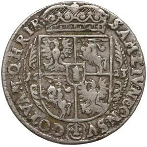 Zygmunt III Waza, Ort Bydgoszcz 1623 - liście palmowe - b. rzadki