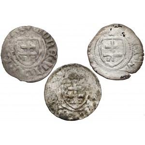 Władysław II Jagiełło, Trzeciaki Kraków (3szt)