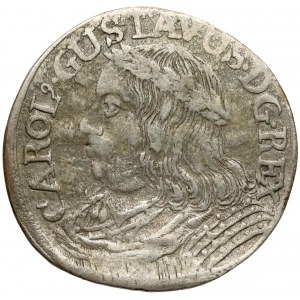 Karol X Gustaw, Ort Toruń bez daty - rzadki
