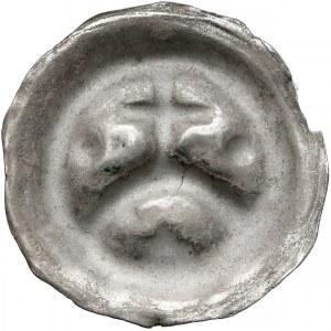 Zakon Krzyżacki, Brakteat - Krzyż na łuku pomiędzy kulami (1277-1288)