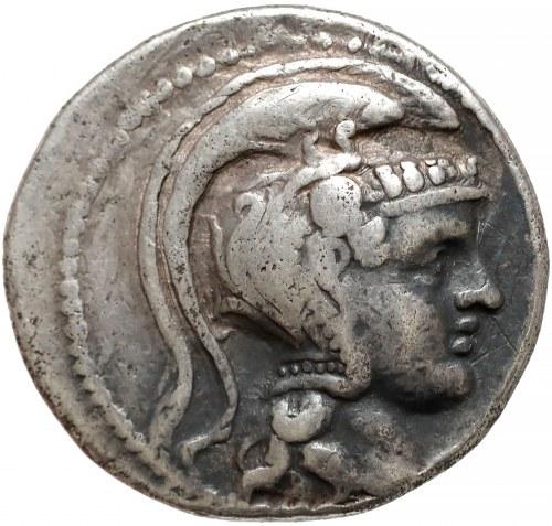 Grecja, Attyka, Ateny, Tetradrachma Nowy Styl 124-123r. p.n.e.