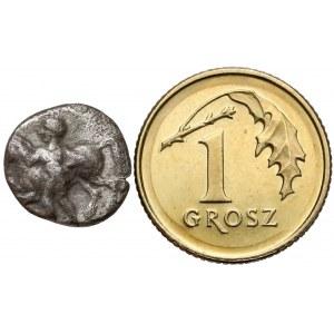 Grecja, Jonia, Erythrae, Obol / Trihemiobol, 480-450r. p.n.e.