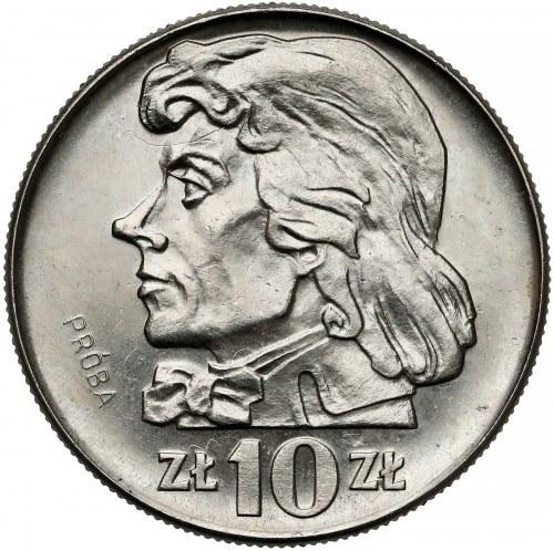Próba NIKIEL 10 złotych 1966 Kościuszko