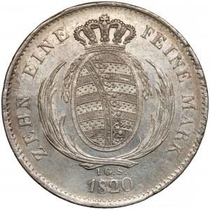 Niemcy, Saksonia, Talar 1820 IGS
