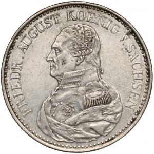 Niemcy, Saksonia, Talar 1826-S