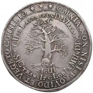 Niemcy, Brunszwik-Wolfenbüttel, Talar pośmiertny 1666