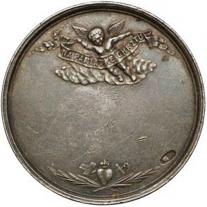 Medal SREBRO na pamiątkę chrztu