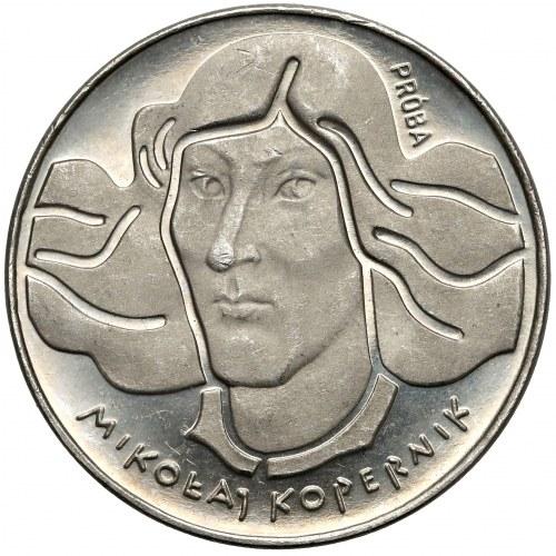 Próba NIKIEL 100 złotych 1973 Mikołaj Kopernik - krótsze włosy
