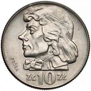 Próba NIKIEL 10 złotych 1960 Kościuszko - głowa
