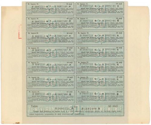 Ziemski Bank Kredytowy, 50x 280 mkp 1923