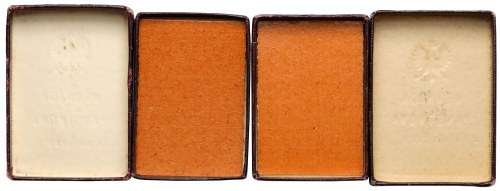 Pudełka na małe plakiety Mennicy Państwowej (2szt)