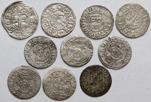 Ryga, zestaw monet MIX (10szt)