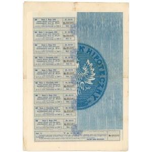 Lwów, Akc. Bank Hipoteczny, 4.5% List hipoteczny 1.000 zł 1926