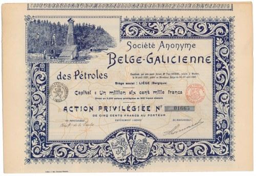 Belge-Galicienne des Petroles