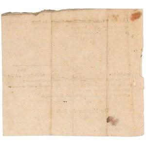 Polisa, Leszno 1804 r.- Südpreussisech Posenschen Städte-Feuer-Societät zu Posen