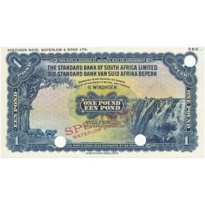 Afryka Południowo-Zachodnia, Namibia SPECIMEN 1 Pound (1955-1959)