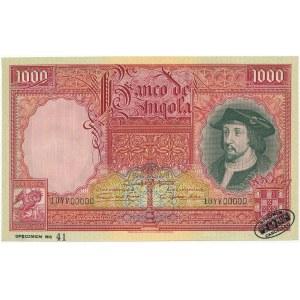 Angola SPECIMEN 1.000 Angolares 1944