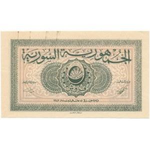 Syria 5 Piastres 1942