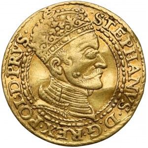 Stefan Batory, Dukat Gdańsk 1583 - lwy z profilu - rzadki