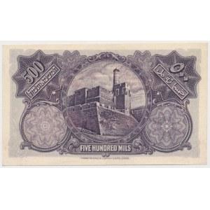 Palestyna, 500 Mils 1939
