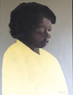 Aleksandra Kosmala-Czarnecka, 1986, Portret Murzynki, 2018