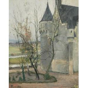 Józef KRZESZ-MĘCINA (1860-1934), Zamek, 1888