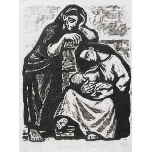 Maria HISZPAŃSKA-NEUMANN (1917-1980), Macierzyństwo, 1956