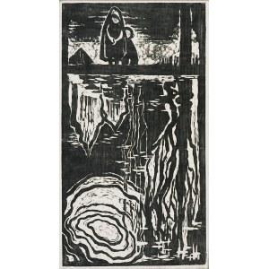 Maria HISZPAŃSKA-NEUMANN (1917-1980), Nad wodą, 1957