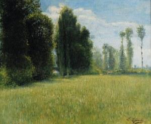 E. LIPIŃSKI - Eryk LIPIŃSKI ? (1908-1991), Pejzaż, l. 30 XX w.