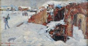 Artur MARKOWICZ (1872-1934), Motyw zimowy, 1922