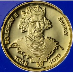2000 zł, 1981, Bolesław II Śmiały, Au900, 8g, PRL