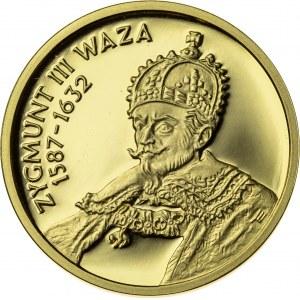 100 zł, 1998, Zygmunt III Waza, Au900, 8g, III RP