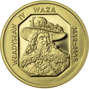 100 zł, 1999, Władysław IV Waza, Au900, 8g, III RP