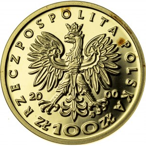 100 zł, 2000, Jadwiga, Au900, 8g, III RP