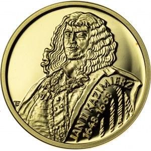 100 zł, 2000, Jan Kazimierz, Au900, 8g, III RP
