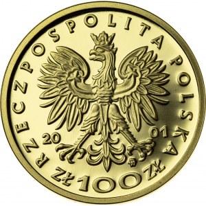 100 zł, 2001, Bolesław III Krzywousty, Au900, 8g, III RP