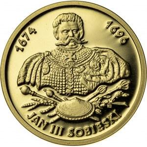 100 zł, 2001, Jan III Sobieski, Au900, 8g, III RP
