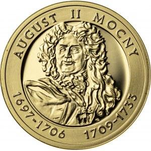 100 zł, 2005, August II Mocny, Au900, 8g, III RP