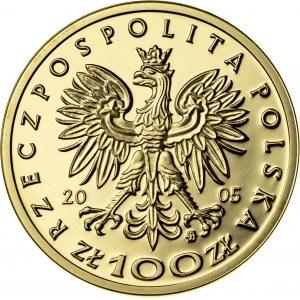 100 zł, 2005, Stanisław August Poniatowski, Au900, 8g, III RP