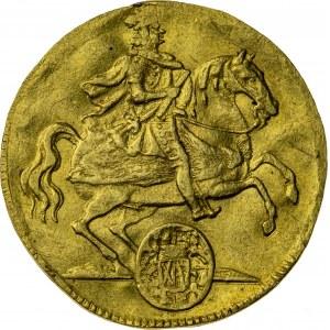 dukat wikariacki, 1711, August II Mocny, Drezno