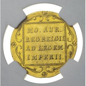 dukat, 1831, Powstanie Listopadowe, pięknie zachowany, ilustracyjny egzemplarz z katalogu Friedberga