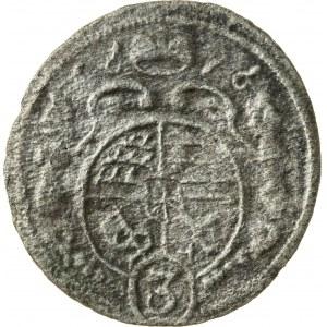 halerz, 1696, Krystian Ulryk 1668-1698, Bierutów