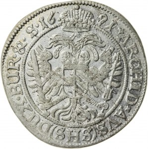 6 krajcarów, 1691, Leopold I (1658-1705), Wrocław