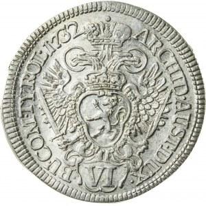 6 krajcarów, 1732, Karol VI, Praga
